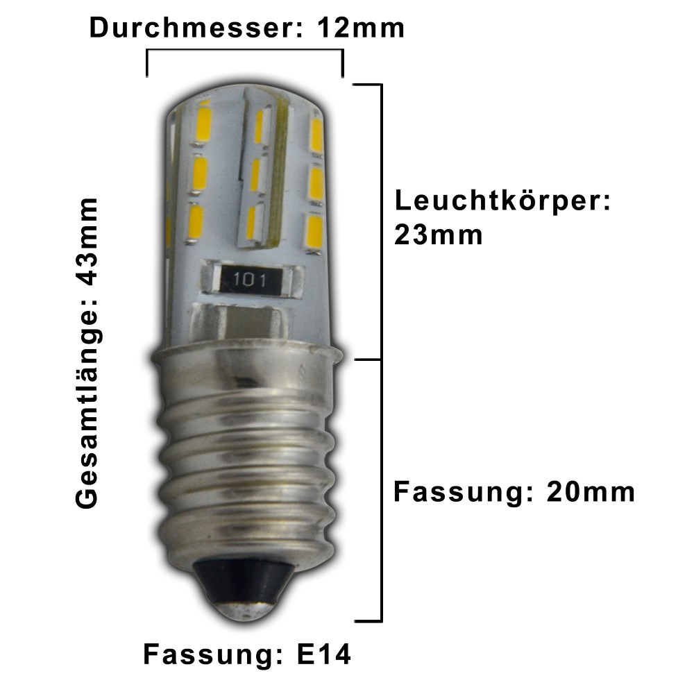 e14 mini led 1 5 watt 230v warmwei lampe leuchtmittel k hlschrank sehr klein ebay. Black Bedroom Furniture Sets. Home Design Ideas