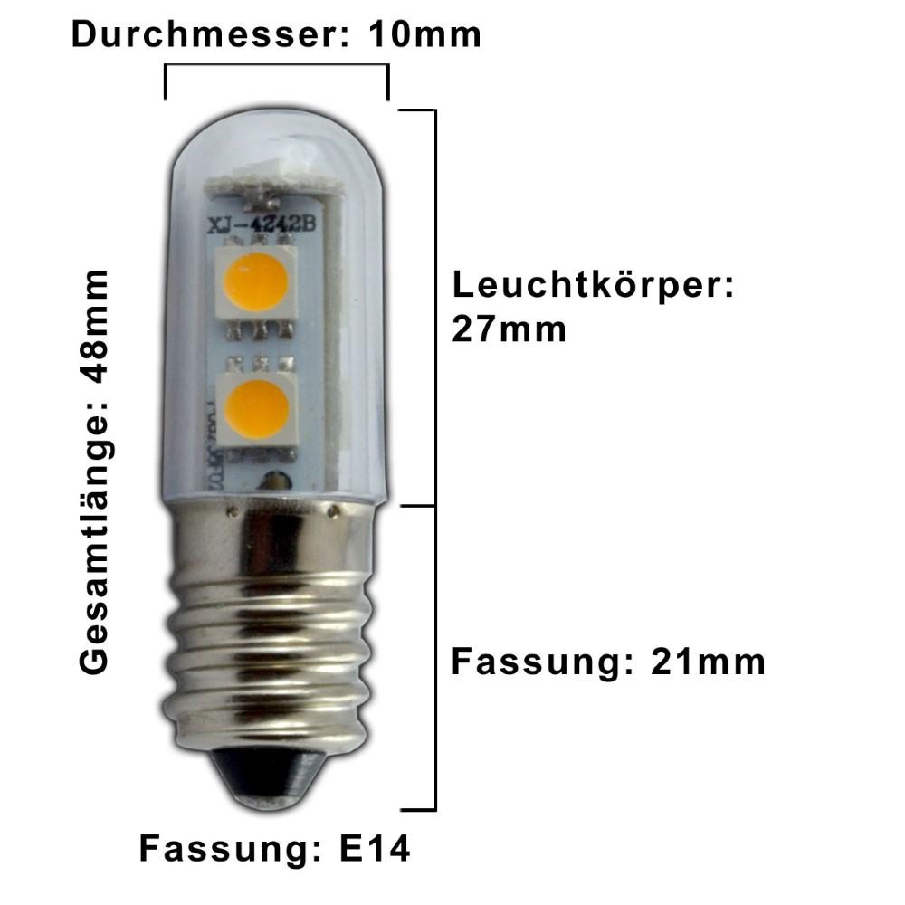 3x e14 led 1 watt warmwei ses gl hbirne leuchtmittel k hlschrank birne klein 4260412583867 ebay. Black Bedroom Furniture Sets. Home Design Ideas