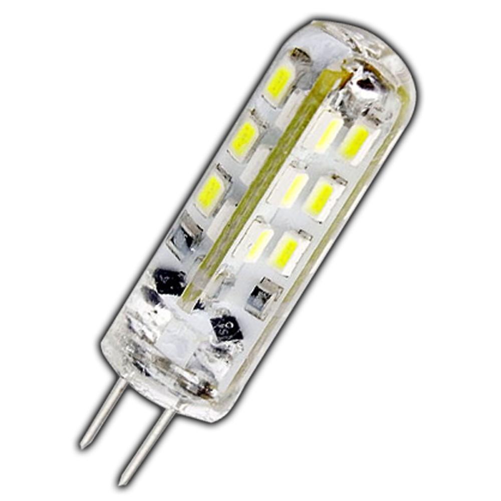 g4 led 1 5 watt lampe dimmbar kaltwei 12v dc 24 smd dimmer gl hbirne silicia ebay. Black Bedroom Furniture Sets. Home Design Ideas