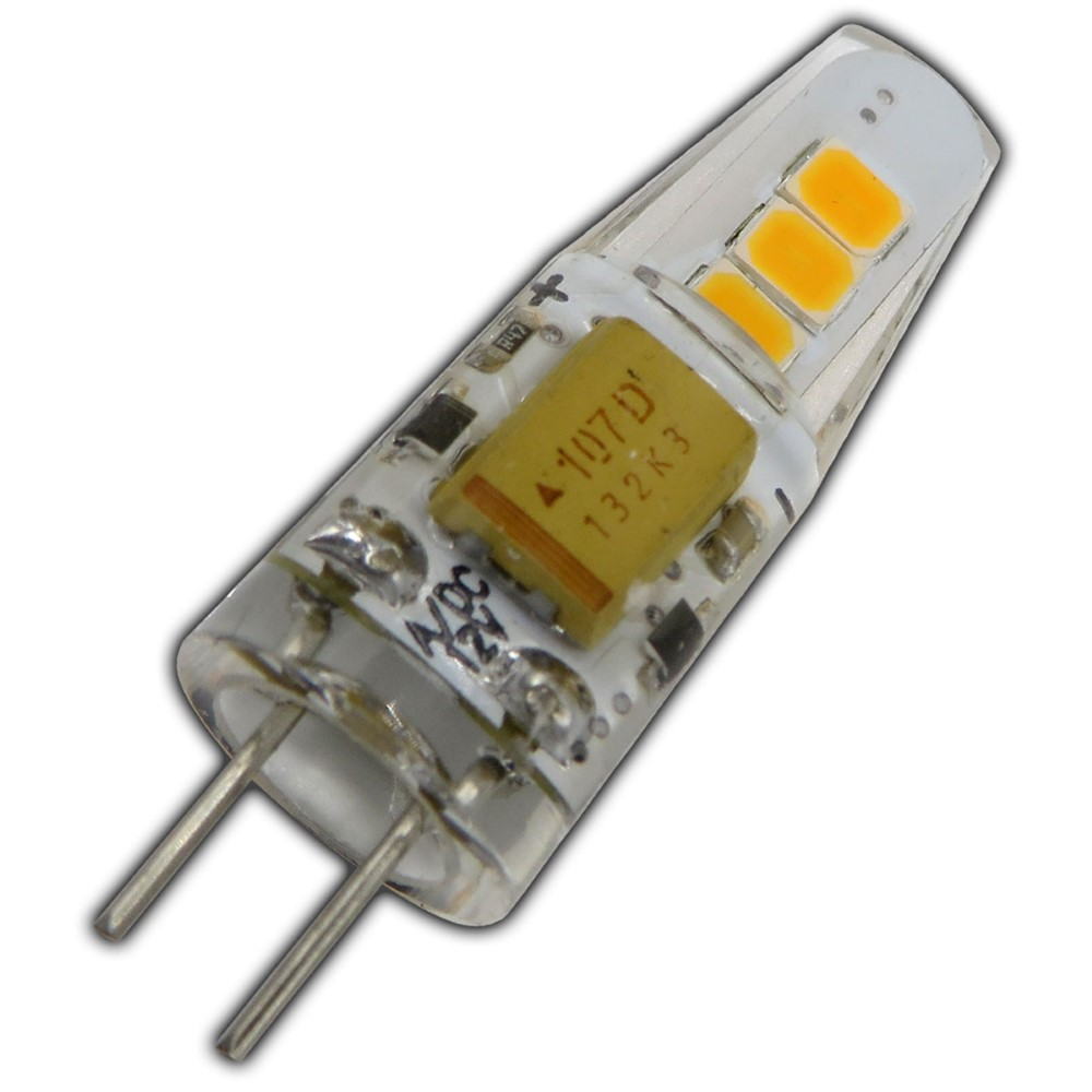 3x g4 led 2 watt 12v ac dc warmwei dimmbar a lampe leuchtmittel leuchte ebay. Black Bedroom Furniture Sets. Home Design Ideas