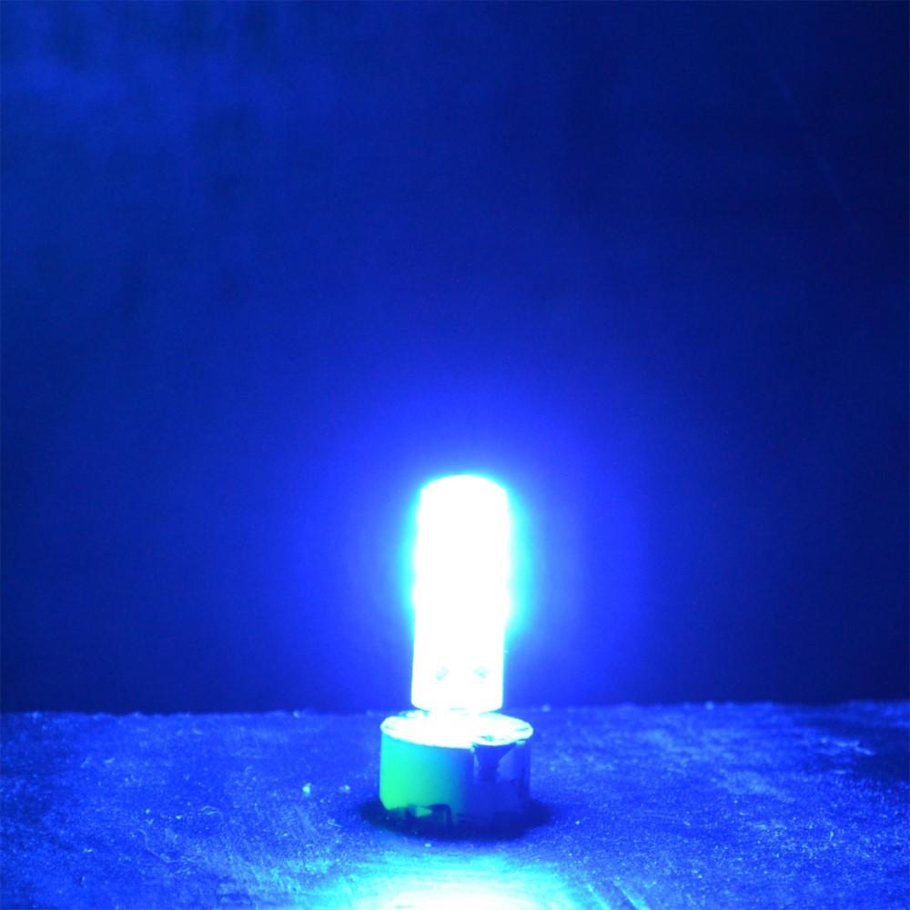 3x g4 led 1 5 watt 12v lampe dimmbar blau blaulicht blaues licht leuchtmittel ebay. Black Bedroom Furniture Sets. Home Design Ideas
