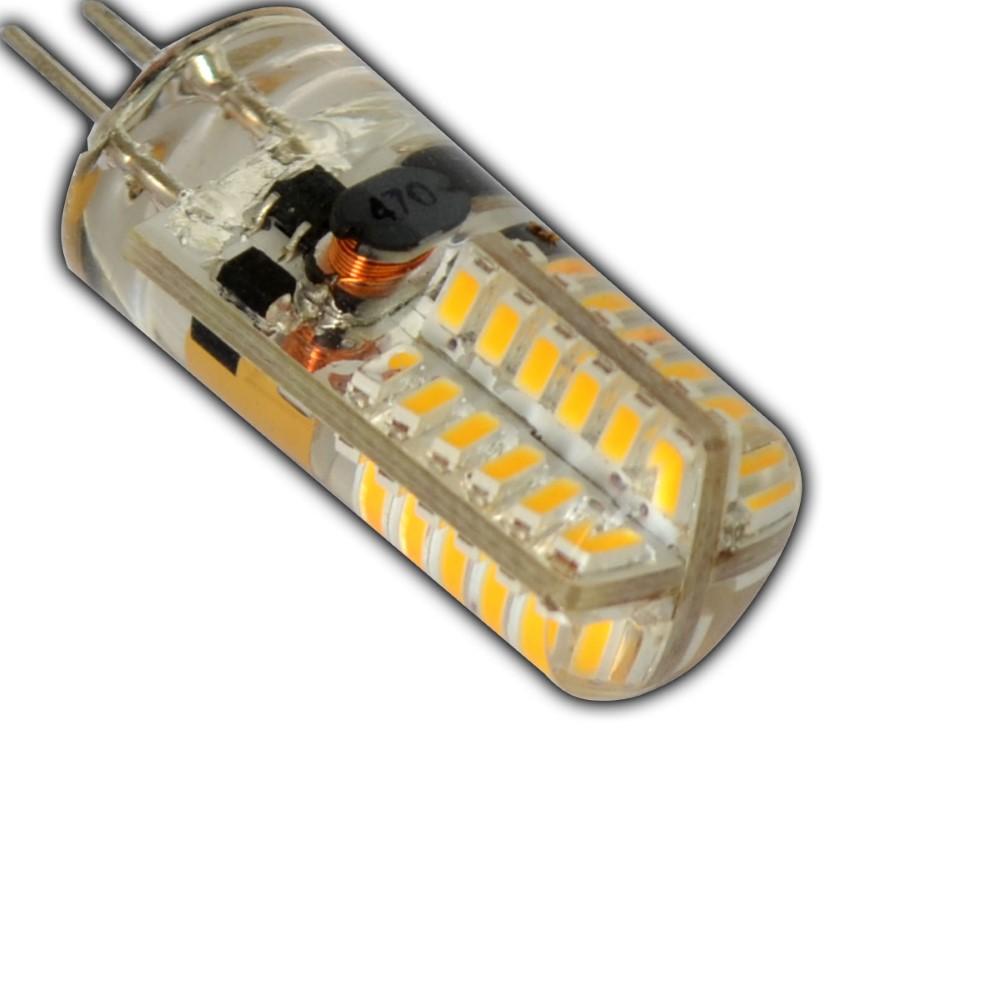 g4 led 3 watt 12v ac dc 48 smd kaltwei halogen lampe halogenersatz gl hbirne ebay. Black Bedroom Furniture Sets. Home Design Ideas