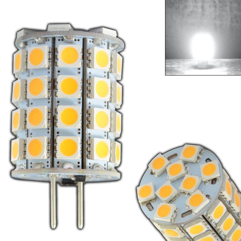 led 6 watt tageslichtwei kaltwei 35w halogen 12v ac dc lampe ebay. Black Bedroom Furniture Sets. Home Design Ideas