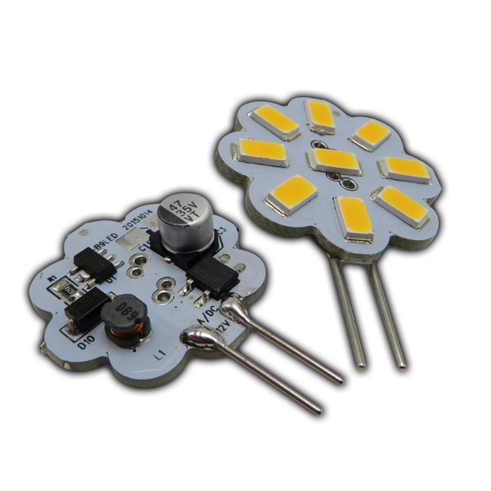g4 led 2 watt 12v ac dc dimmbar warmwei 120 rund leuchtmittel lampe klein ebay. Black Bedroom Furniture Sets. Home Design Ideas