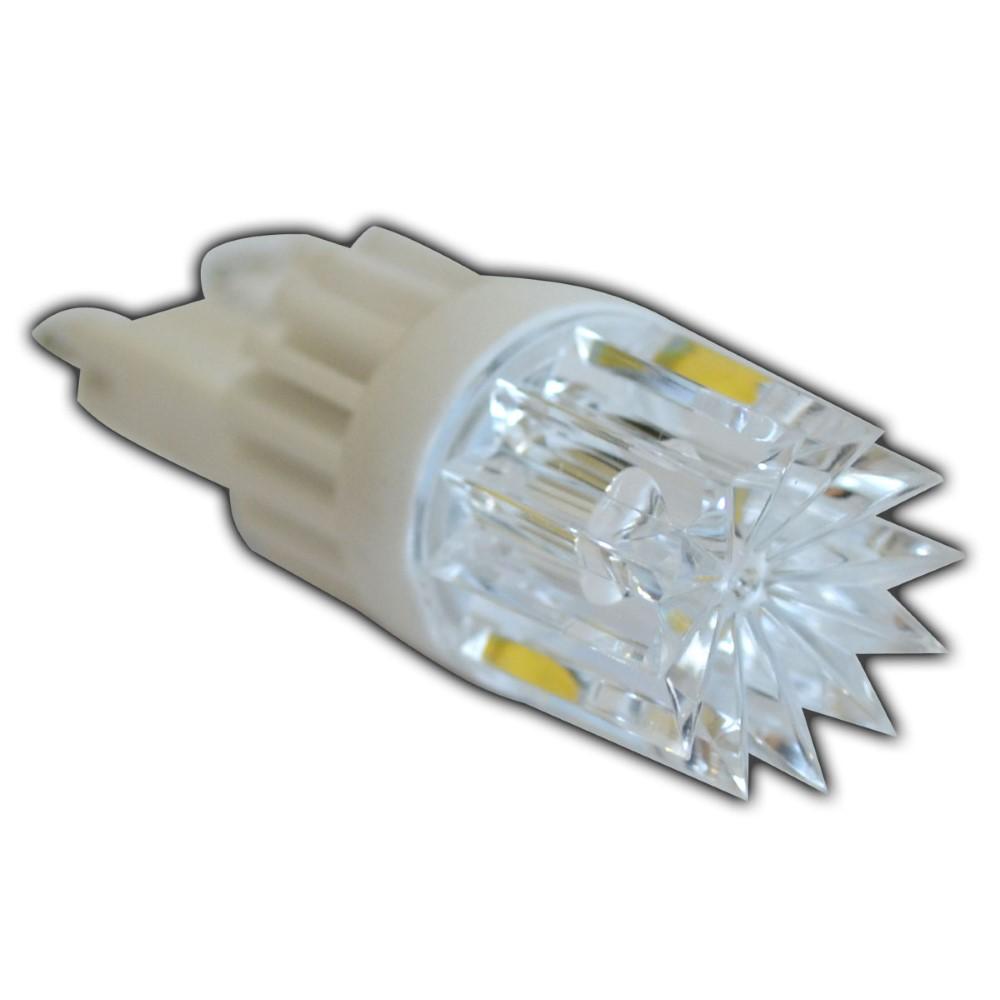 g9 kristall led 3 watt dimmbar glas keramik warmwei lampe leuchtmittel birne ebay. Black Bedroom Furniture Sets. Home Design Ideas