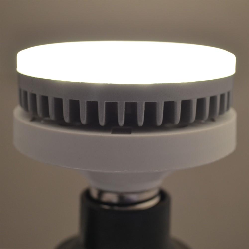 gx53 led 8 watt dimmbar warmwei einbaustrahler gx 53 55w dimmer lampe strahler ebay. Black Bedroom Furniture Sets. Home Design Ideas