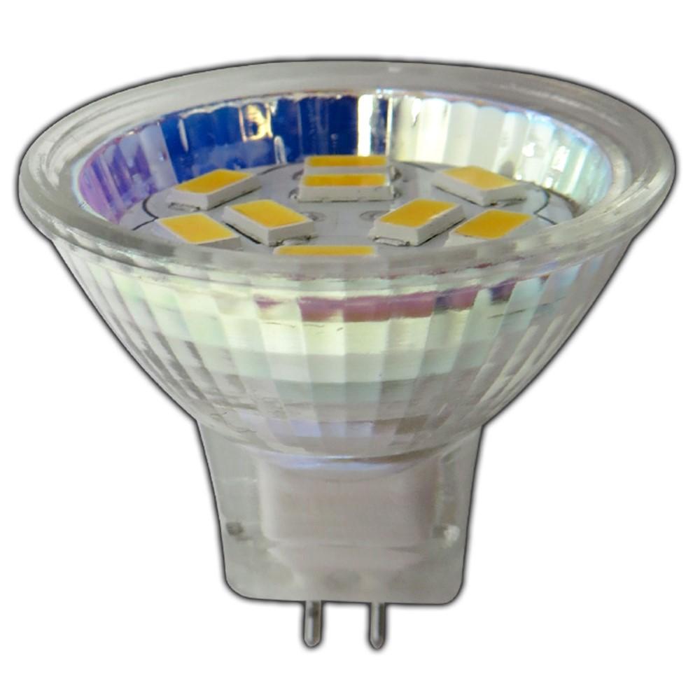 mr11 gu4 led 2 watt 12v ac dc warmweiss birne lampe. Black Bedroom Furniture Sets. Home Design Ideas