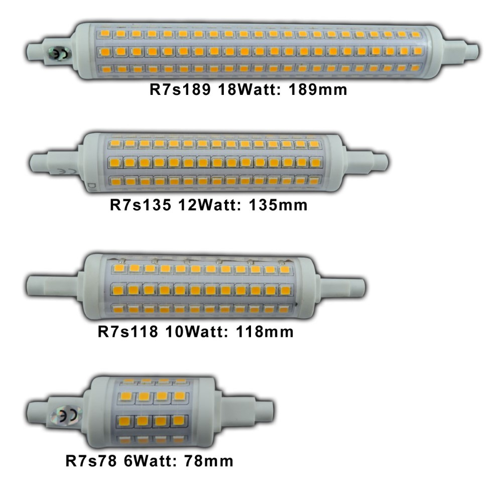 r7s led 10 watt dimmbar warmwei 2700k 118mm x 25mm stab fluter strahler lampe 4260412583911 ebay. Black Bedroom Furniture Sets. Home Design Ideas