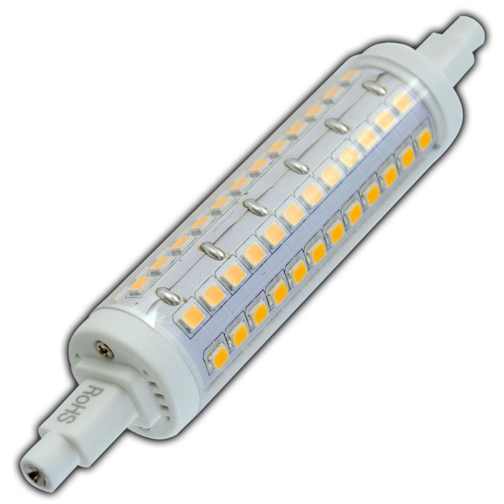r7s led 10 watt dimmbar warmwei 118mm leuchtmittel lampe fluter j118 strahler ebay. Black Bedroom Furniture Sets. Home Design Ideas