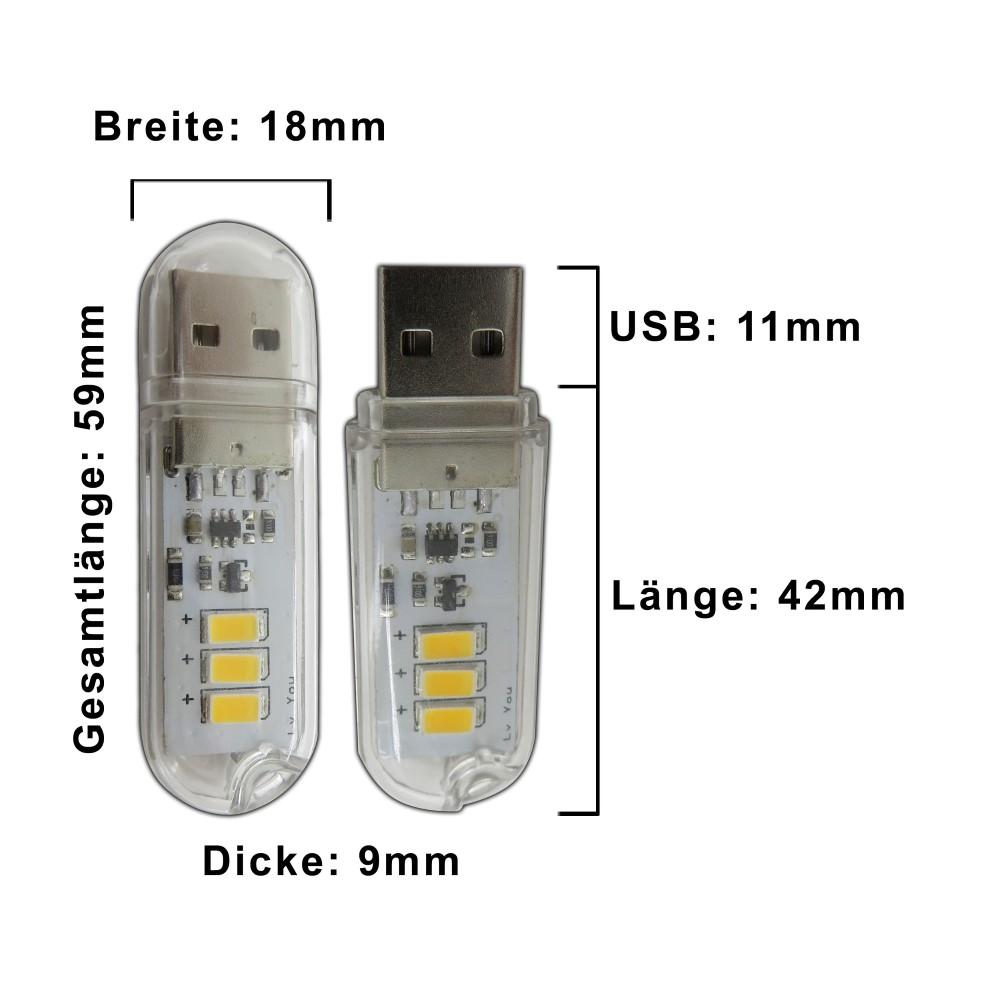 mini usb stick licht leuchte 1 5 watt lampe taschenlampe. Black Bedroom Furniture Sets. Home Design Ideas